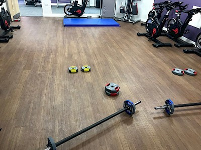 New Gym Flooring - Fit for a workout